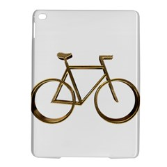 Elegant Gold Look Bicycle Cycling  Ipad Air 2 Hardshell Cases