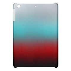 Frosted Blue And Red Apple Ipad Mini Hardshell Case by theunrulyartist