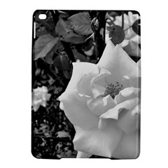 White Rose Black Back Ground Greenery ! Ipad Air 2 Hardshell Cases by CreatedByMeVictoriaB