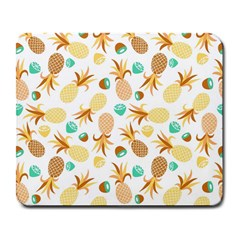 Seamless Summer Fruits Pattern Large Mousepads by TastefulDesigns