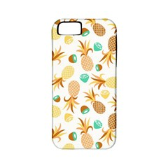 Seamless Summer Fruits Pattern Apple Iphone 5 Classic Hardshell Case (pc+silicone) by TastefulDesigns