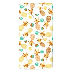 Seamless Summer Fruits Pattern Galaxy Note 4 Back Case by TastefulDesigns
