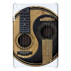 Old And Worn Acoustic Guitars Yin Yang Apple Ipad Mini Hardshell Case by JeffBartels