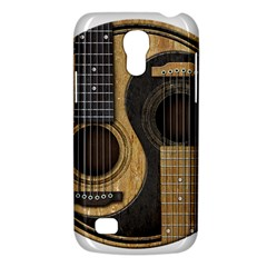 Old And Worn Acoustic Guitars Yin Yang Galaxy S4 Mini by JeffBartels