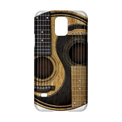 Old And Worn Acoustic Guitars Yin Yang Samsung Galaxy S5 Hardshell Case  by JeffBartels