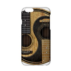 Old And Worn Acoustic Guitars Yin Yang Apple Iphone 6/6s Hardshell Case by JeffBartels