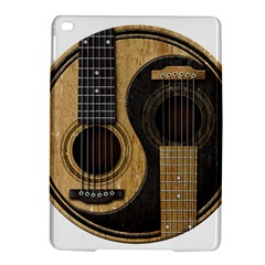 Old And Worn Acoustic Guitars Yin Yang Ipad Air 2 Hardshell Cases by JeffBartels
