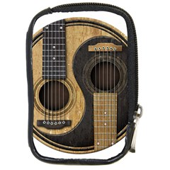 Old And Worn Acoustic Guitars Yin Yang Compact Camera Cases by JeffBartels