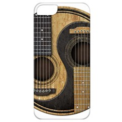 Old And Worn Acoustic Guitars Yin Yang Apple Iphone 5 Classic Hardshell Case