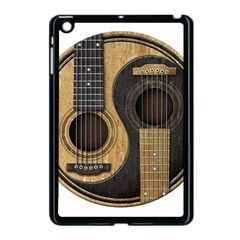 Old And Worn Acoustic Guitars Yin Yang Apple Ipad Mini Case (black) by JeffBartels