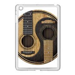 Old And Worn Acoustic Guitars Yin Yang Apple Ipad Mini Case (white) by JeffBartels