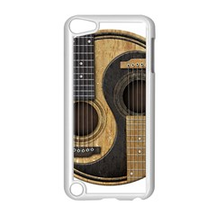 Old And Worn Acoustic Guitars Yin Yang Apple Ipod Touch 5 Case (white) by JeffBartels