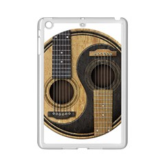 Old And Worn Acoustic Guitars Yin Yang Ipad Mini 2 Enamel Coated Cases by JeffBartels