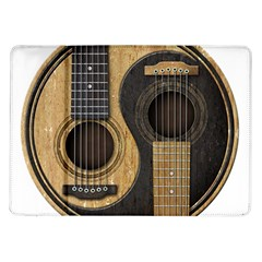 Old And Worn Acoustic Guitars Yin Yang Samsung Galaxy Tab 10 1  P7500 Flip Case by JeffBartels