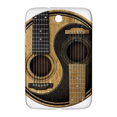 Old And Worn Acoustic Guitars Yin Yang Samsung Galaxy Note 8 0 N5100 Hardshell Case  by JeffBartels