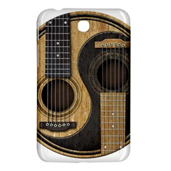 Old And Worn Acoustic Guitars Yin Yang Samsung Galaxy Tab 3 (7 ) P3200 Hardshell Case  by JeffBartels