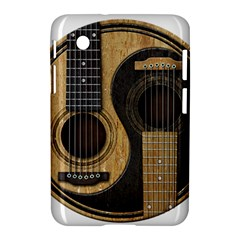 Old And Worn Acoustic Guitars Yin Yang Samsung Galaxy Tab 2 (7 ) P3100 Hardshell Case  by JeffBartels