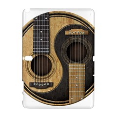 Old And Worn Acoustic Guitars Yin Yang Galaxy Note 1 by JeffBartels