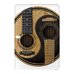 Old And Worn Acoustic Guitars Yin Yang Samsung Galaxy Tab Pro 10 1 Hardshell Case by JeffBartels
