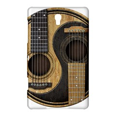 Old And Worn Acoustic Guitars Yin Yang Samsung Galaxy Tab S (8 4 ) Hardshell Case