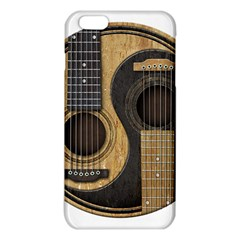 Old And Worn Acoustic Guitars Yin Yang Iphone 6 Plus/6s Plus Tpu Case by JeffBartels