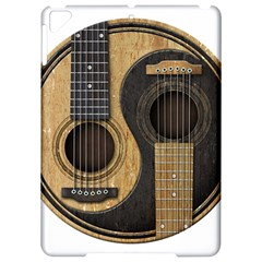 Old And Worn Acoustic Guitars Yin Yang Apple Ipad Pro 9 7   Hardshell Case by JeffBartels