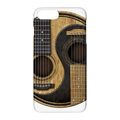 Old And Worn Acoustic Guitars Yin Yang Apple Iphone 7 Plus Hardshell Case by JeffBartels