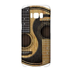 Old And Worn Acoustic Guitars Yin Yang Samsung Galaxy S8 Hardshell Case  by JeffBartels