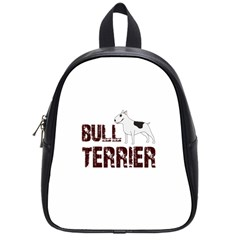 Bull Terrier  School Bags (small)