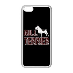 Bull Terrier  Apple Iphone 5c Seamless Case (white) by Valentinaart