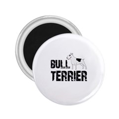 Bull Terrier  2 25  Magnets by Valentinaart