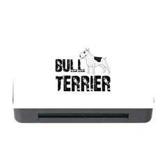 Bull Terrier  Memory Card Reader With Cf by Valentinaart
