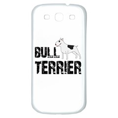 Bull Terrier  Samsung Galaxy S3 S Iii Classic Hardshell Back Case by Valentinaart