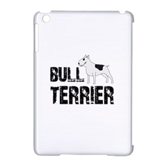 Bull Terrier  Apple Ipad Mini Hardshell Case (compatible With Smart Cover) by Valentinaart