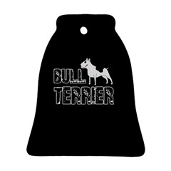 Bull Terrier  Bell Ornament (two Sides) by Valentinaart