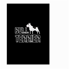 Bull Terrier  Large Garden Flag (two Sides) by Valentinaart