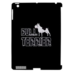 Bull Terrier  Apple Ipad 3/4 Hardshell Case (compatible With Smart Cover) by Valentinaart