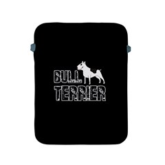 Bull Terrier  Apple Ipad 2/3/4 Protective Soft Cases by Valentinaart