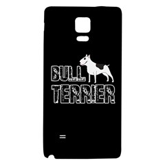 Bull Terrier  Galaxy Note 4 Back Case by Valentinaart