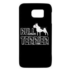 Bull Terrier  Galaxy S6 by Valentinaart