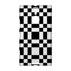 Checkerboard Black And White Nokia Lumia 1520 by Colorfulart23