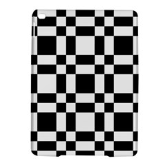 Checkerboard Black And White Ipad Air 2 Hardshell Cases by Colorfulart23
