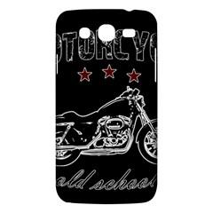 Motorcycle Old School Samsung Galaxy Mega 5 8 I9152 Hardshell Case  by Valentinaart