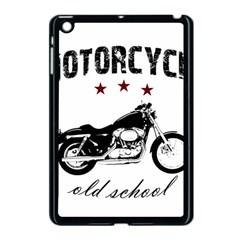 Motorcycle Old School Apple Ipad Mini Case (black) by Valentinaart