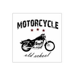 Motorcycle Old School Satin Bandana Scarf by Valentinaart