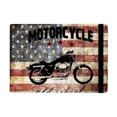 Motorcycle Old School Apple Ipad Mini Flip Case by Valentinaart