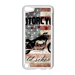 Motorcycle Old School Apple Ipod Touch 5 Case (white) by Valentinaart