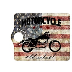 Motorcycle Old School Kindle Fire Hdx 8 9  Flip 360 Case by Valentinaart