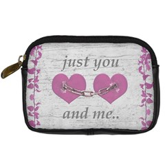 Shabby Chich Love Concept Poster Digital Camera Cases by dflcprints