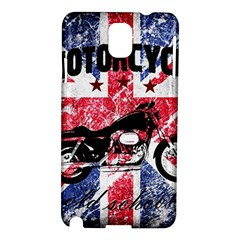Motorcycle Old School Samsung Galaxy Note 3 N9005 Hardshell Case by Valentinaart